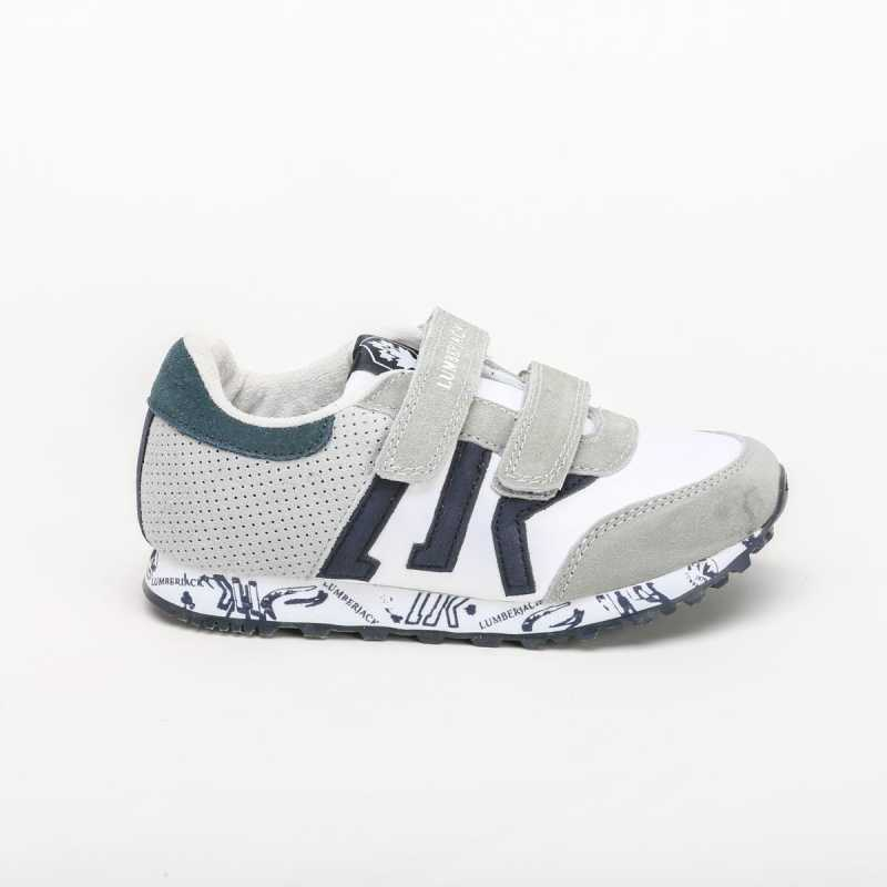 Sneakers Lumberjack Junior Freedom Grigio online - Sneakers - prezzo: 39,92 € -20%