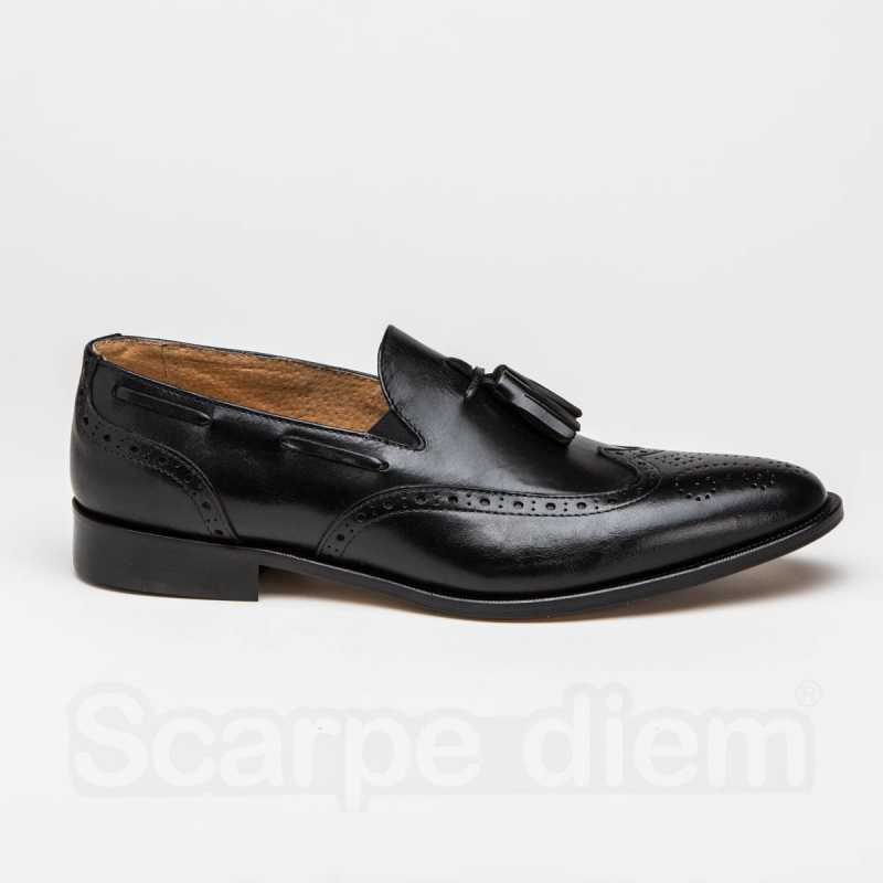 Mocassino Uomo English Shoes Nero online - Mocassini - prezzo: 49,50 € -50%