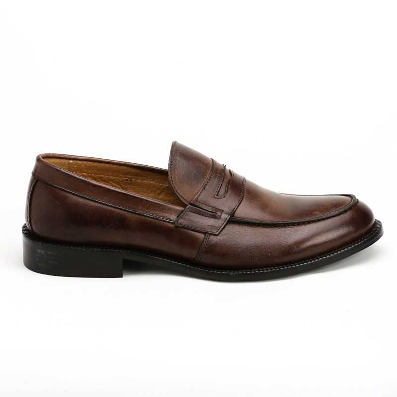 Scarpa English Shoes Marrone Uomo online - Mocassini - prezzo: 69,93 € -30%