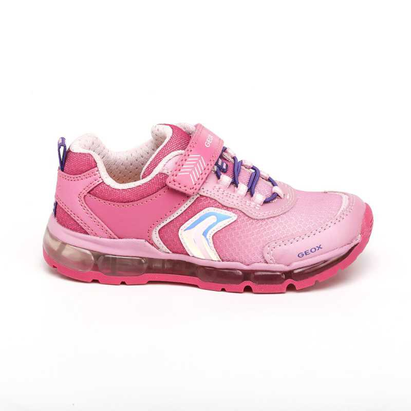 Sneakers Geox Android Bambina Rosa con Luci online - Sneakers - prezzo: 41,18€ -25%