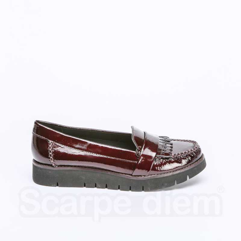 Mocassino Donna Geox Blenda Bordeaux online - Mocassini - prezzo: 65,95 € -45%