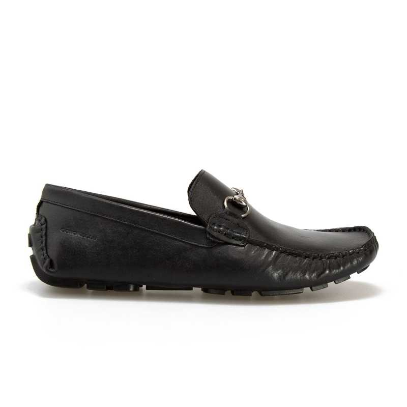Moscassino Coronello Shoes Pelle Nera online - Mocassini - prezzo: 63,92 € -20%