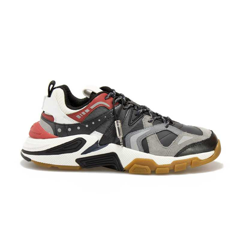 Sneakers Geox Phonica T01 Navy Rosso online - Sneakers - prezzo: 97,43 € -25%