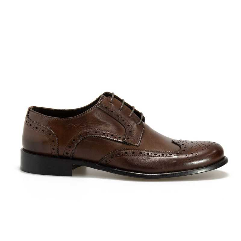 Scarpa Derby Gallucci color Brandy online - Mocassini - prezzo: 38,69 € -20%