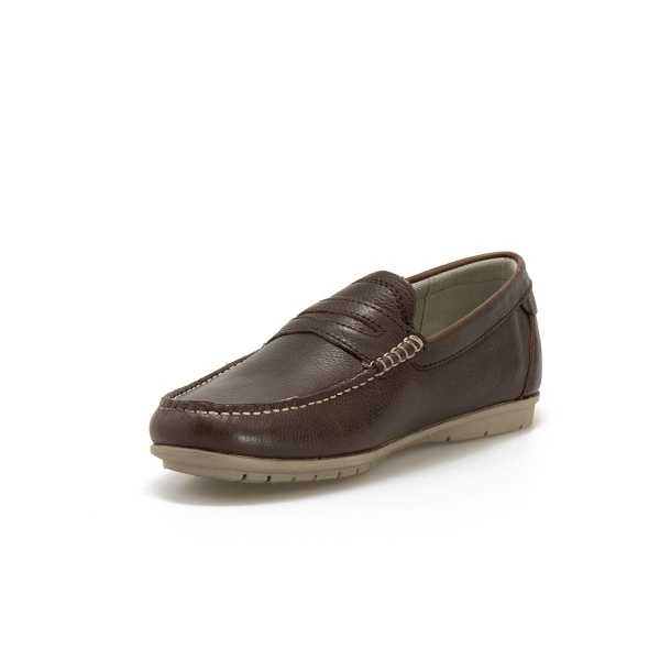Mocassino Valleverde Pelle Vitello Marrone online - Mocassini - prezzo: 63,67 € -15%