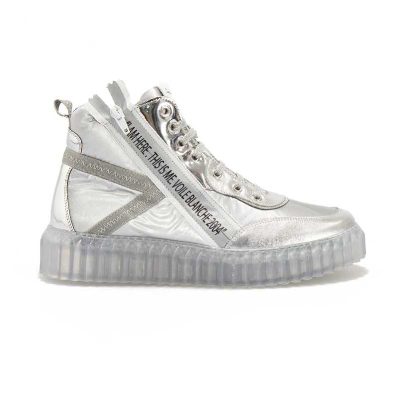Sneakers Alte Voile Blanche Spry High Argento online - Sneakers - prezzo: 118,20€ -20%