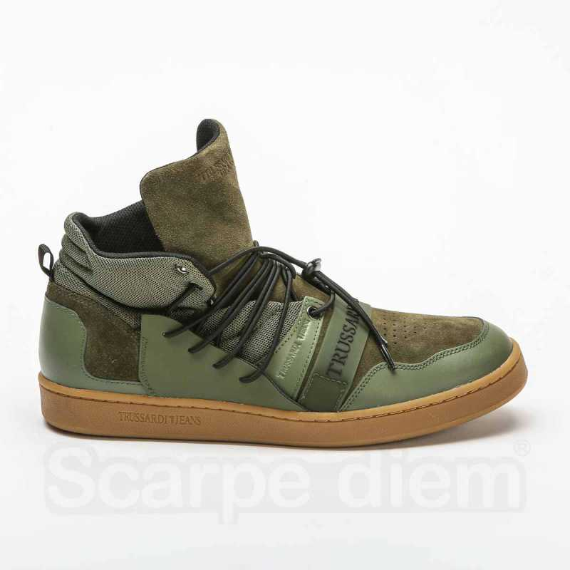 Sneakers Trussardi Verde Militare online - Sneakers - prezzo: 84,90 € product_reduction_percent