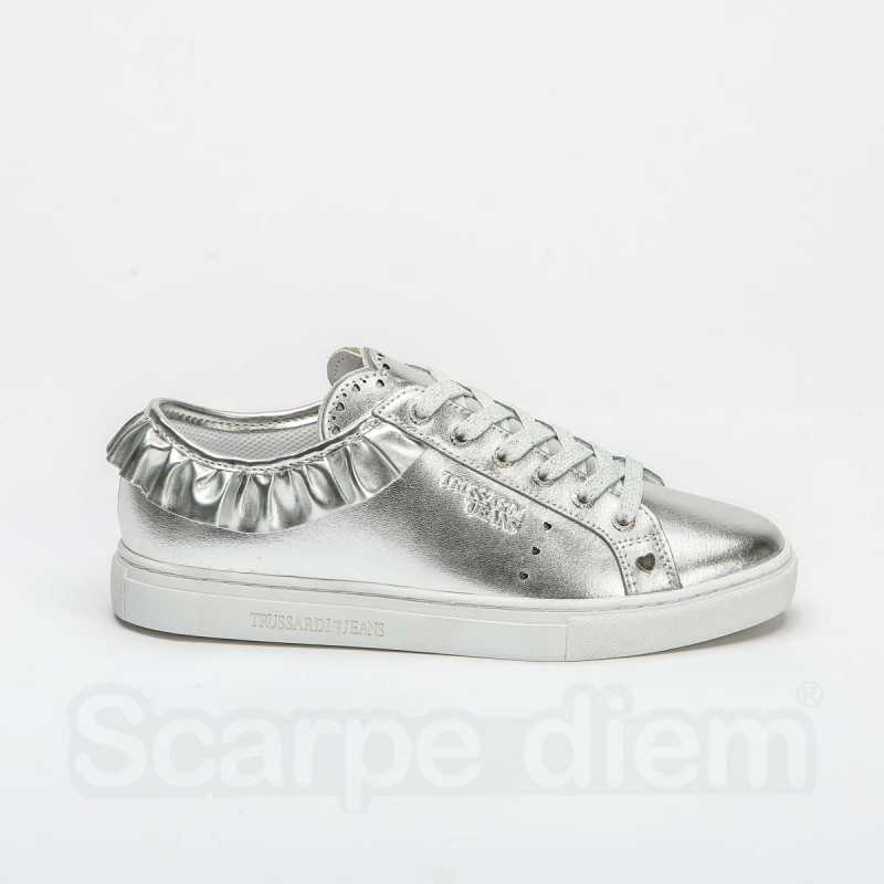 Sneakers Trussardi Silver online - Sneakers - prezzo: 79,90€ product_reduction_percent