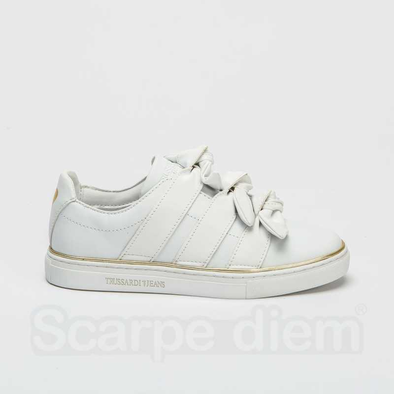 Sneakers Trussardi Bianca online - Sneakers - prezzo: 79,90 € product_reduction_percent