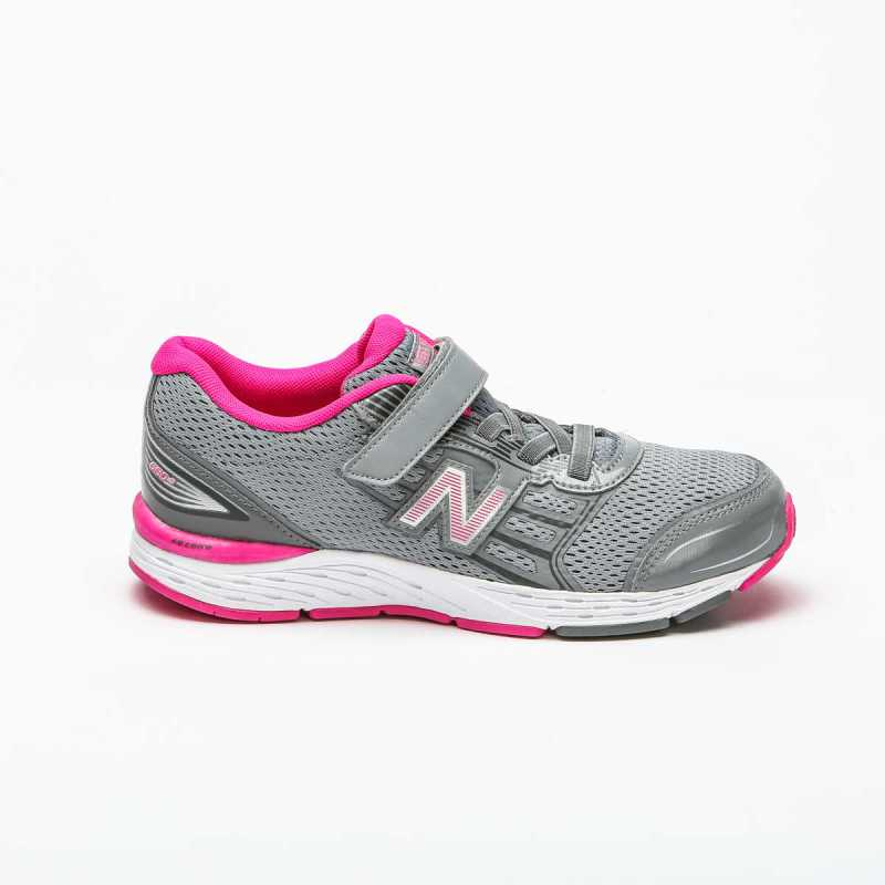 Sneakers New Balance 680 Bambina Grigia online - Sneakers - prezzo: 50,00 € product_reduction_percent