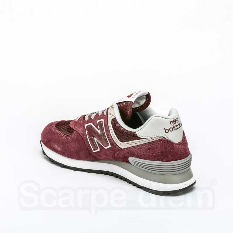 Sneakers New Balance 574 Donna Bordeaux