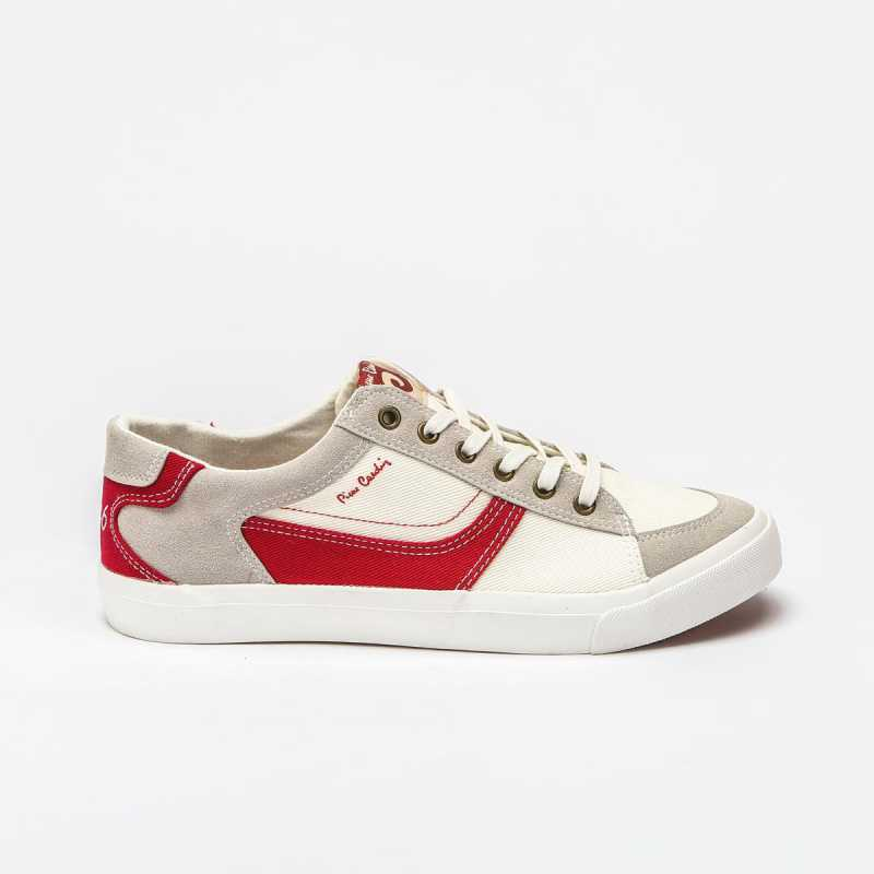 Sneakers Pierre Cardin 618 Bianca/Rossa online - Sneakers - prezzo: 39,90 € product_reduction_percent