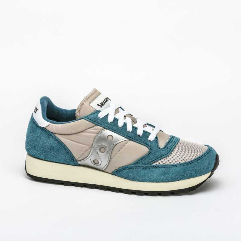 Sneakers Saucony Jazz Original Vintage Beige/Azzurra online - Sneakers - prezzo: 99,00 € product_reduction_percent