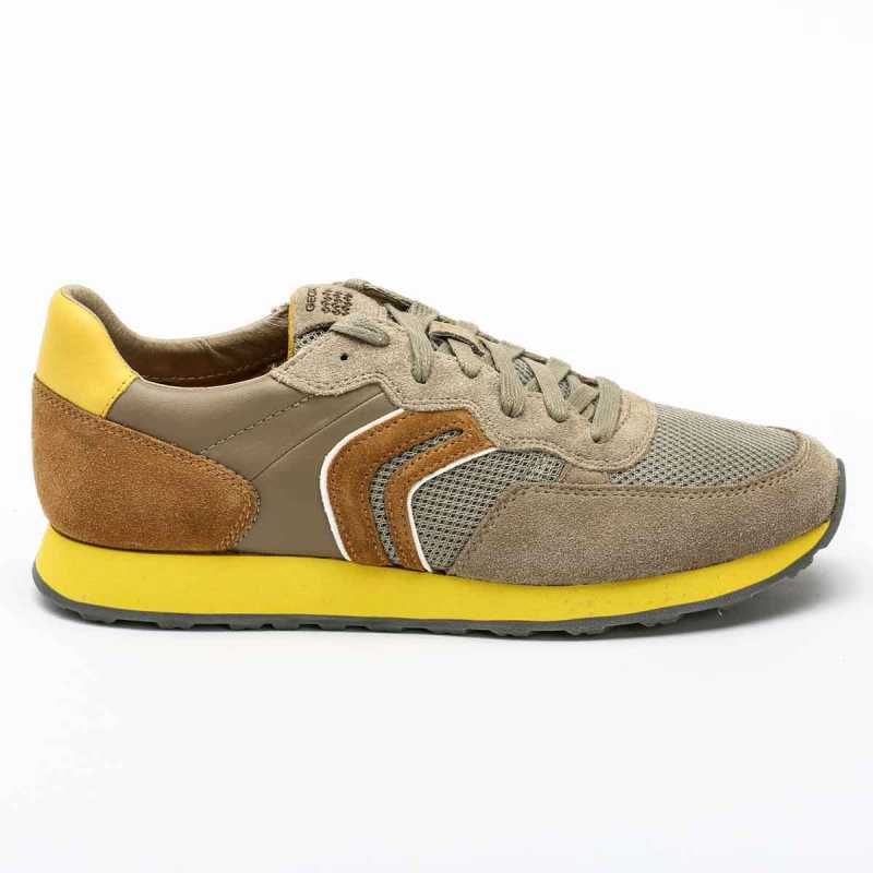 Sneakers Geox Vincit Beige/Giallo online - Sneakers - prezzo: 99,90 € product_reduction_percent