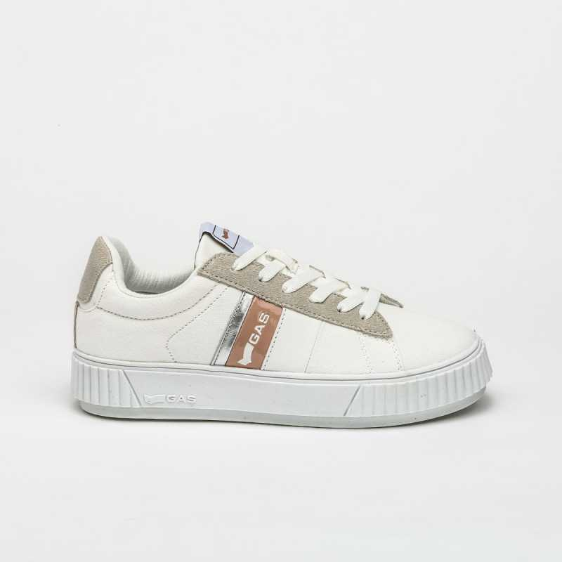Sneakers Gas Bianco/Beige online - Sneakers - prezzo: 39,90€ product_reduction_percent