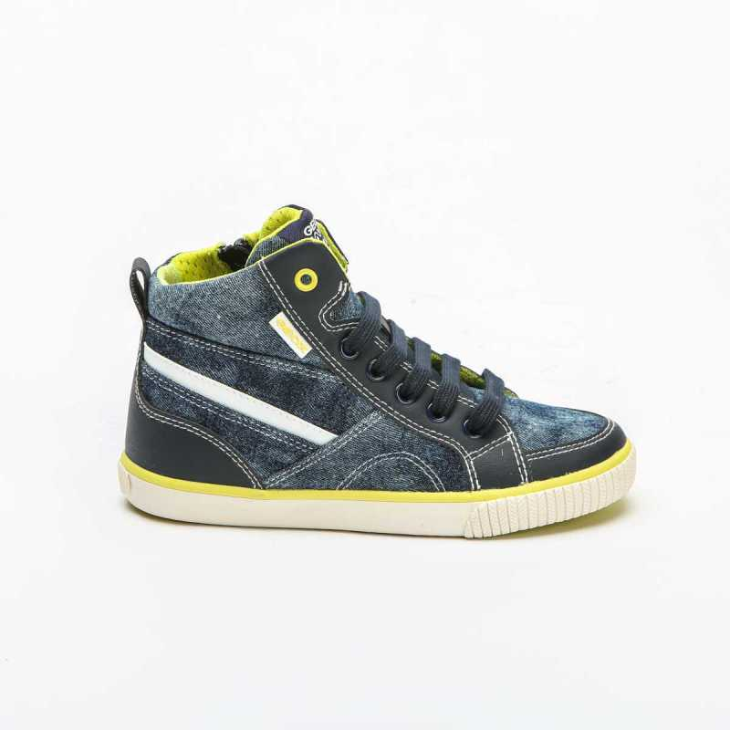 Sneakers Alta Geox Bambino Jeans online - Sneakers - prezzo: 59,90€ product_reduction_percent