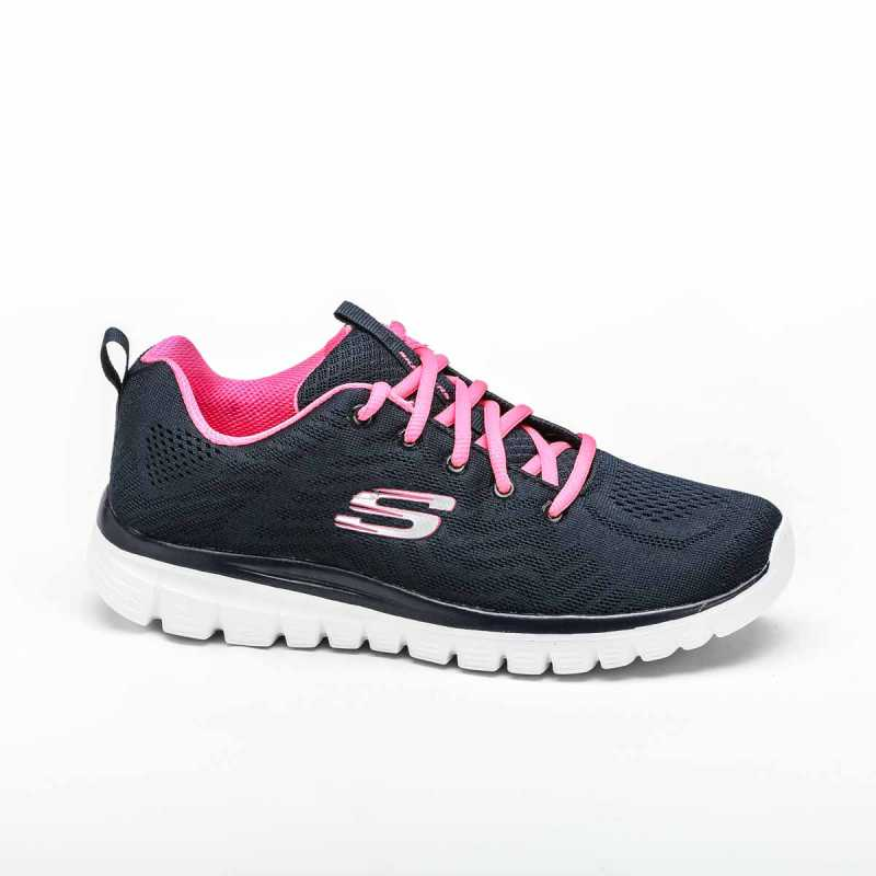 Sneakers Skechers Graceful Get Connected Blu/Rosa online - Sneakers - prezzo: 41,93 € -30%