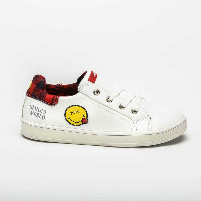 Sneakers SMILEY World Bianca online - Sneakers - prezzo: 24,90 € product_reduction_percent