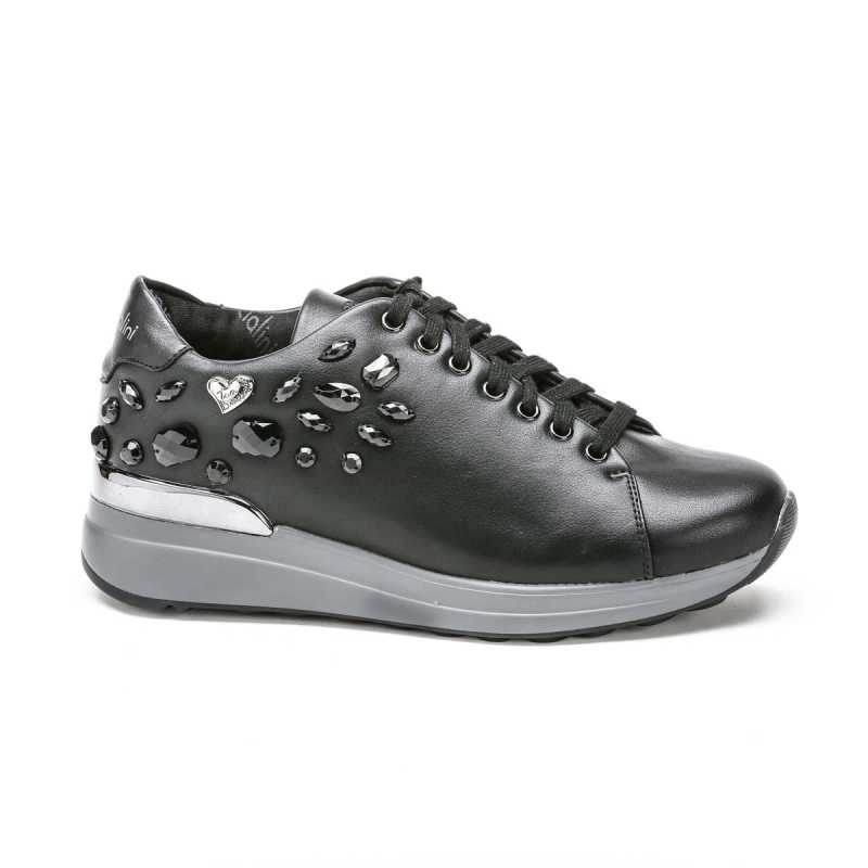 Sneakers Braccialini TUA27 Nera con Pietre online - Sneakers - prezzo: 74,90 € product_reduction_percent