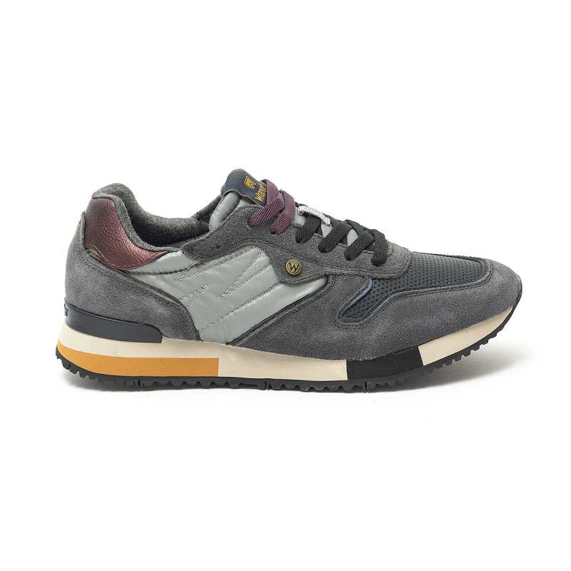 Sneakers Wrangler Forest Suede Antracite online - Sneakers - prezzo: 79,90 € product_reduction_percent