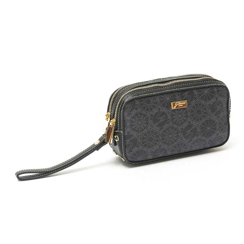 Pochette Beauty Gattinoni Roma Candy Nero online - Pochette - prezzo: 39,00 € product_reduction_percent