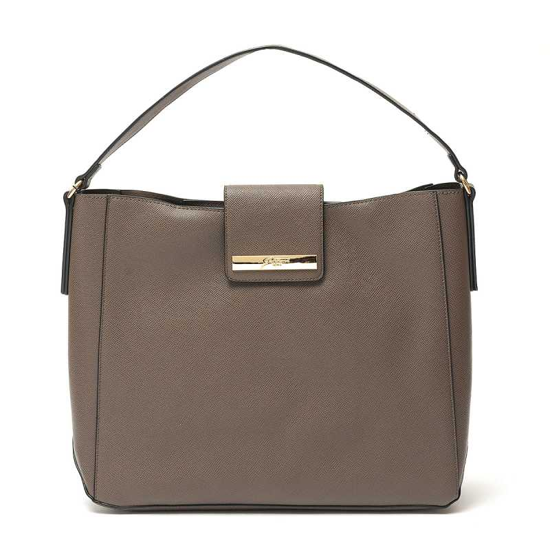 Borsa a Spalla Gattinoni Roma New Grace Taupe online - Borse - prezzo: 59,90 € product_reduction_percent