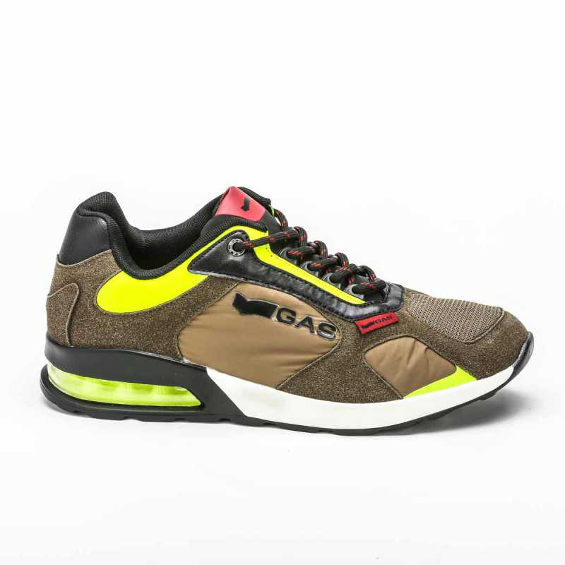 Sneakers Gas Verde/Giallo online - Sneakers - prezzo: 89,90€ product_reduction_percent