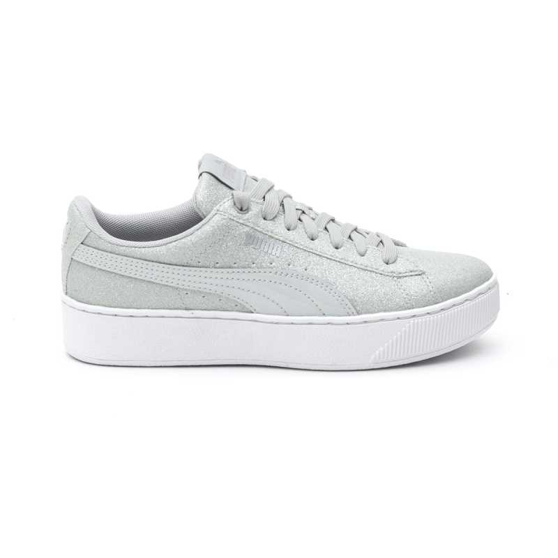 Sneakers Puma Vikky Platform Glitz Grigio online - Sneakers - prezzo: 59,90 € product_reduction_percent
