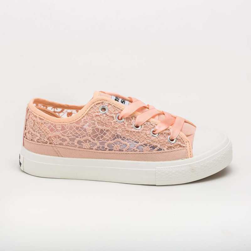 Sneakers Miss Sixty Elegante Pizzo Rosa online - Sneakers - prezzo: 39,90 € product_reduction_percent
