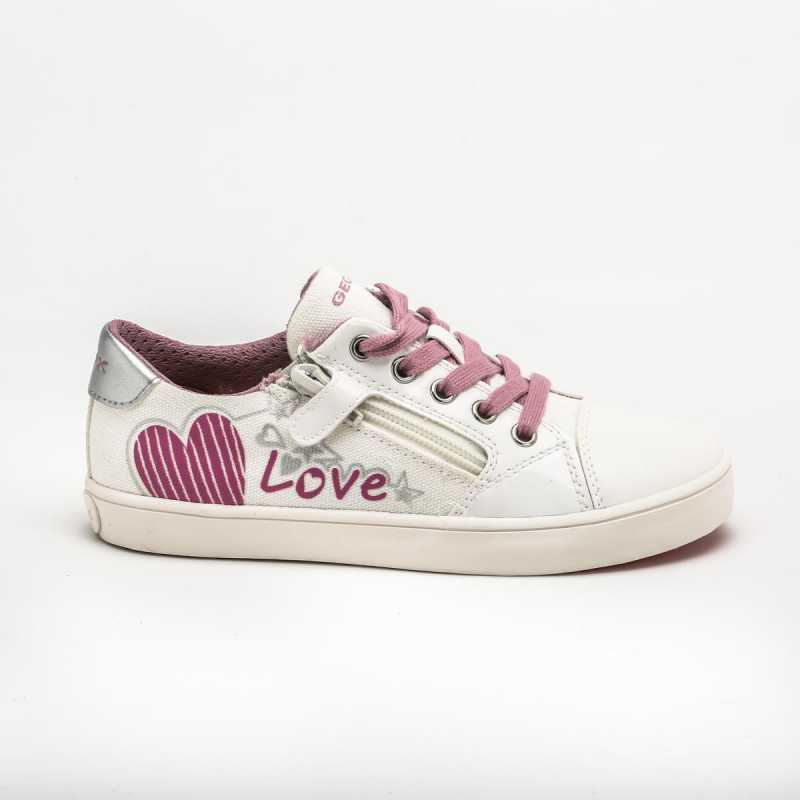 Sneakers Geox Gisli Bambina Bianco/Rosa online - Sneakers - prezzo: 44,90 € product_reduction_percent