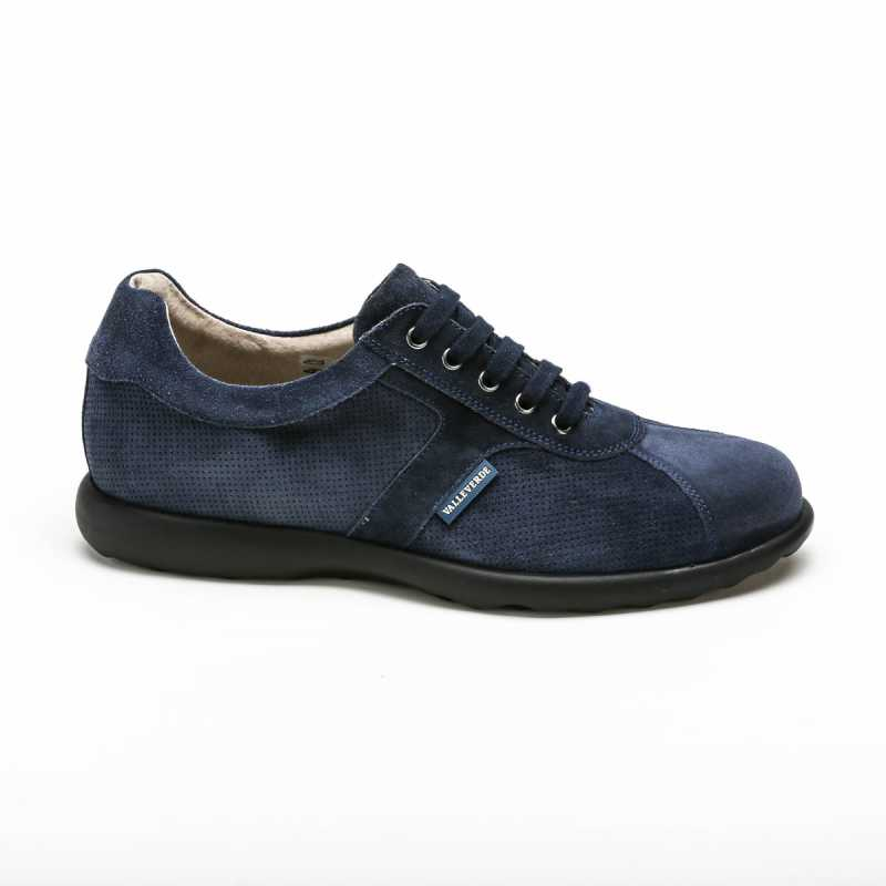Scarpa Sneakers Valleverde Camoscio Blu online - Sneakers - prezzo: 75,00 € product_reduction_percent