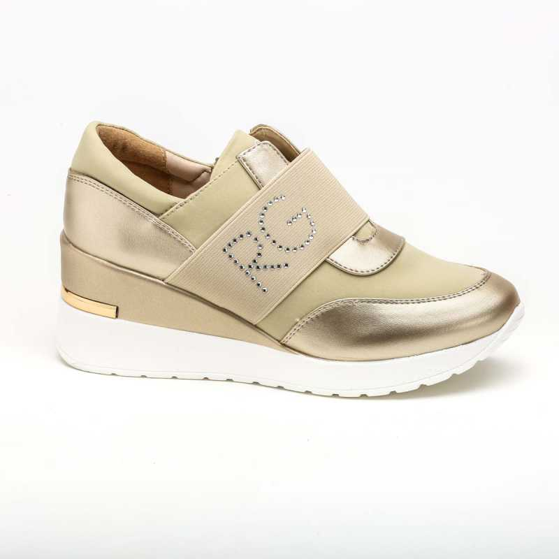 Sneakers Slip-On Romeo Gigli Beige online - Sneakers - prezzo: 49,90 € product_reduction_percent